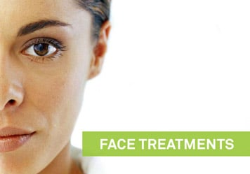 Green Beauty , Facetreatment